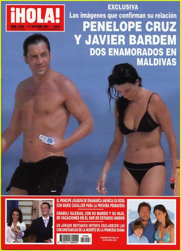 Penelope Cruz and Javi... Javier Bardem